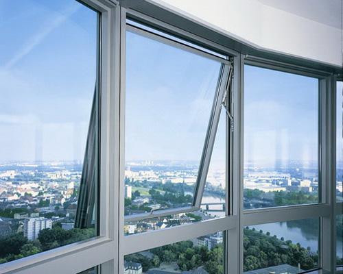 Окно из алюминия