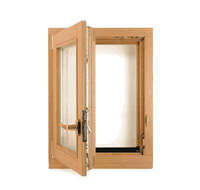 Классический вариант – поворотные окна, которые позволяют хорошо проветривать помещение
