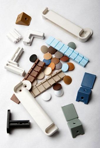 Различные типы фурнитуры для корпусной мебели