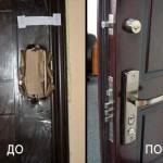 Замок в металлической двери: как заменить, особенности установки, что потребуется