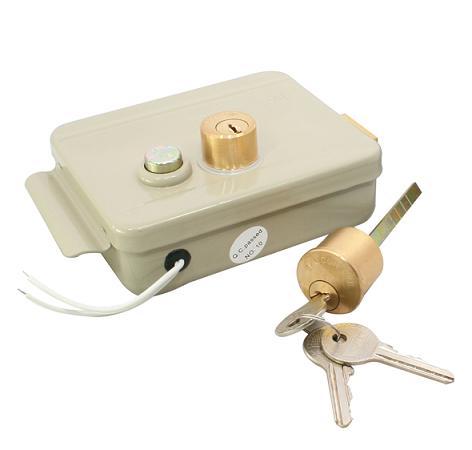 Устройство, которое можно открыть ключом и электродвигателем