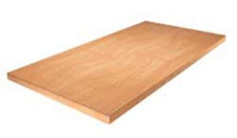 ДСП – наиболее популярный материал для изготовления современных полок