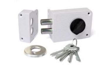 Запирающее устройство белого цвета от компании Зенит ЗН-1-3