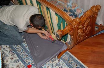 Замена каркаса дивана
