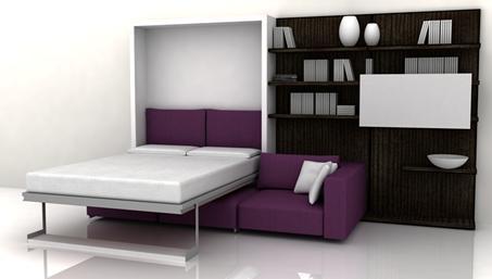 Шкаф-кровать – отличное решение для малогабаритного помещения