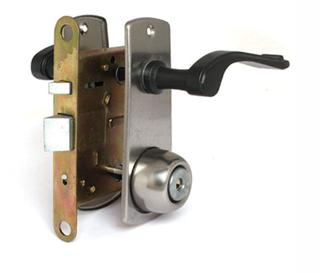 Входной замок с дисковой системой для входной металлической двери