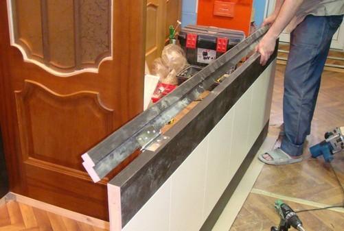 Монтаж дверных петель на полотно