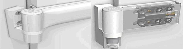 Регулировка дверных петель