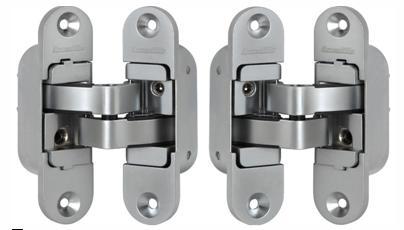 Внутренние петли, применяемы для установки межкомнатных дверей