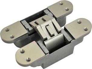 Универсальная металлическая петля скрытого типа REZIDENT AMR-2 применима для коробок любого типа