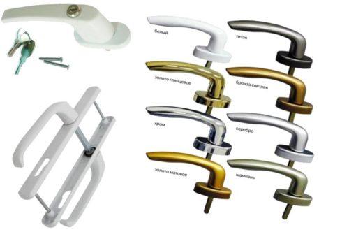 Виды ручек по дизайну и конструкции