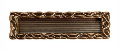 Врезная ручка, изготовленная из бронзы