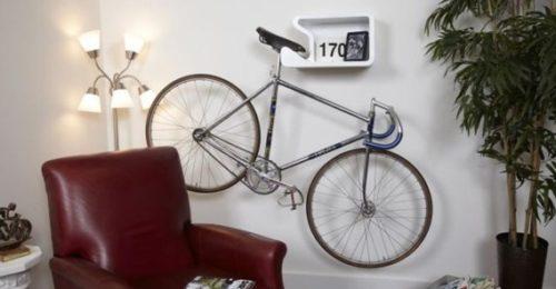 Велосипедная полка с держателем для седла