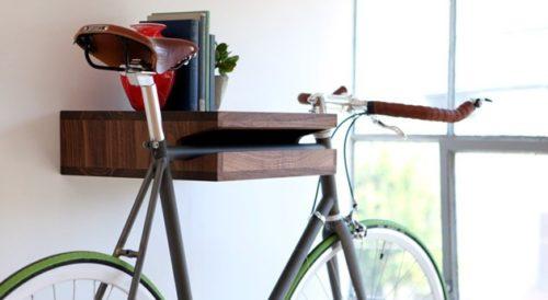 Полка для подвеса велосипеда за раму
