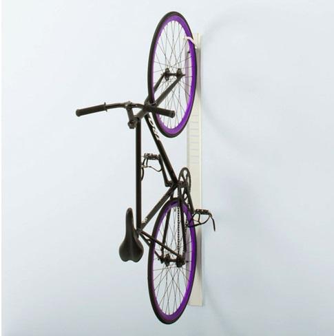 Фиксация велосипеда вертикально к стене