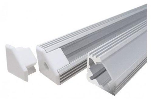 Алюминиевый угловой профиль для ленты