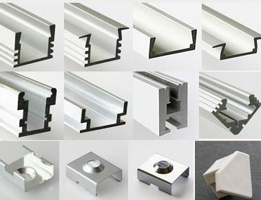 Разновидности профилей для монтажа светодиодной ленты