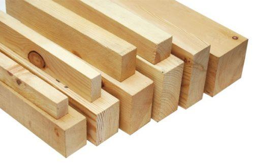 Деревянные профиля для гипсокартона