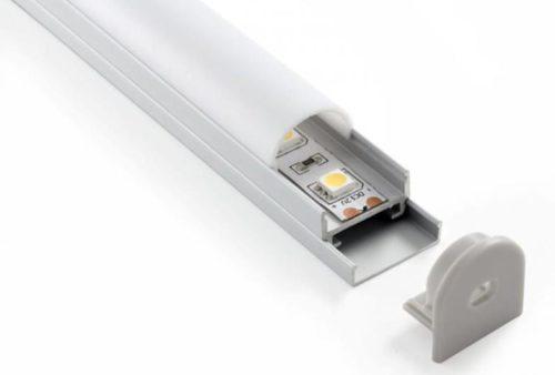 Потолочный профиль для укладки светодиодной ленты