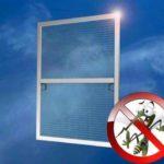 Как выполнить крепление москитной сетки на окно своими руками