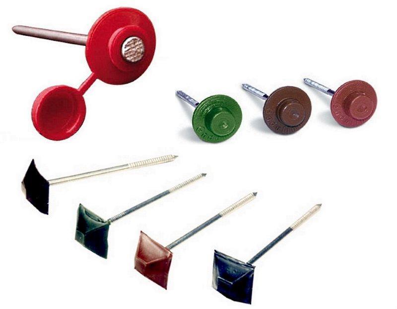 Крепежи для ондулина и гибких материалов