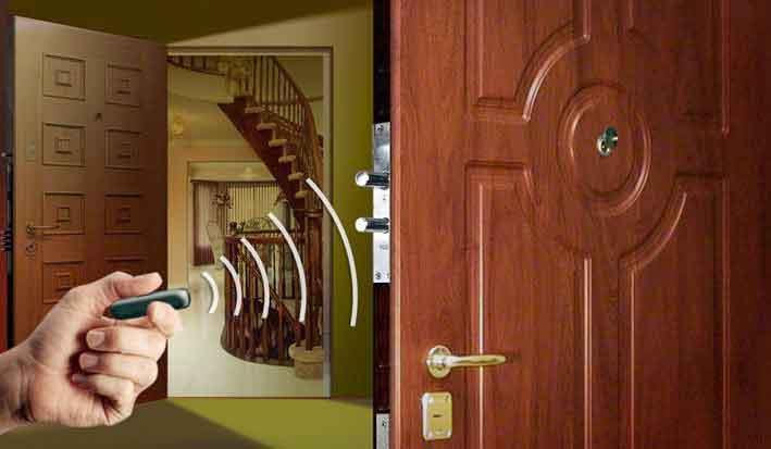 Электронная задвижка для входной двери