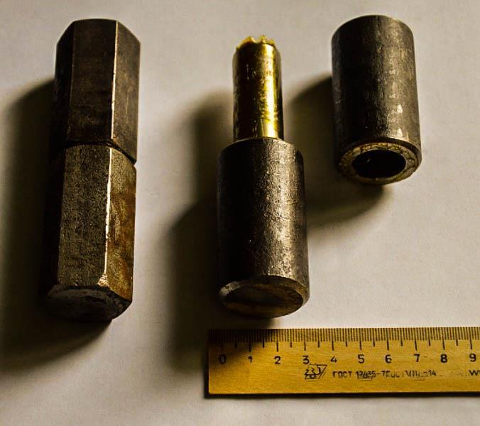 Цилиндрические шестигранные петли