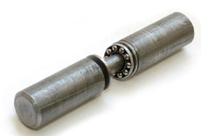 Цилиндрическая петля с опорным подшипником