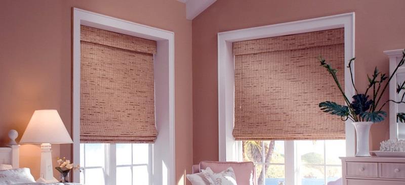 Светозащитные шторы из ткани
