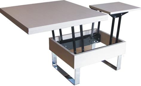 Фурнитура для бесцаргового раздвижения стола