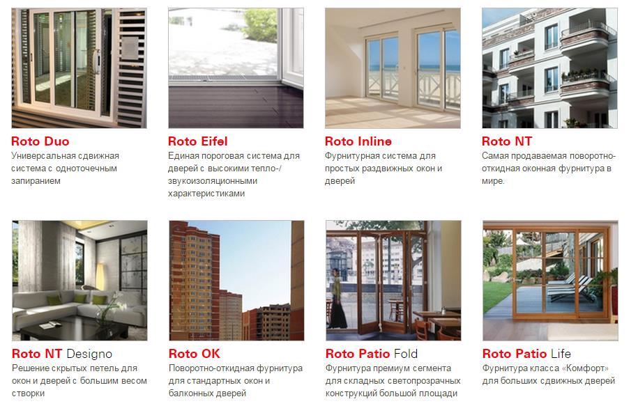 Roto для балконных дверей