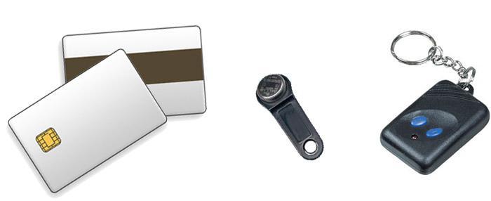 Ключи для открывания различных видов электронных замков