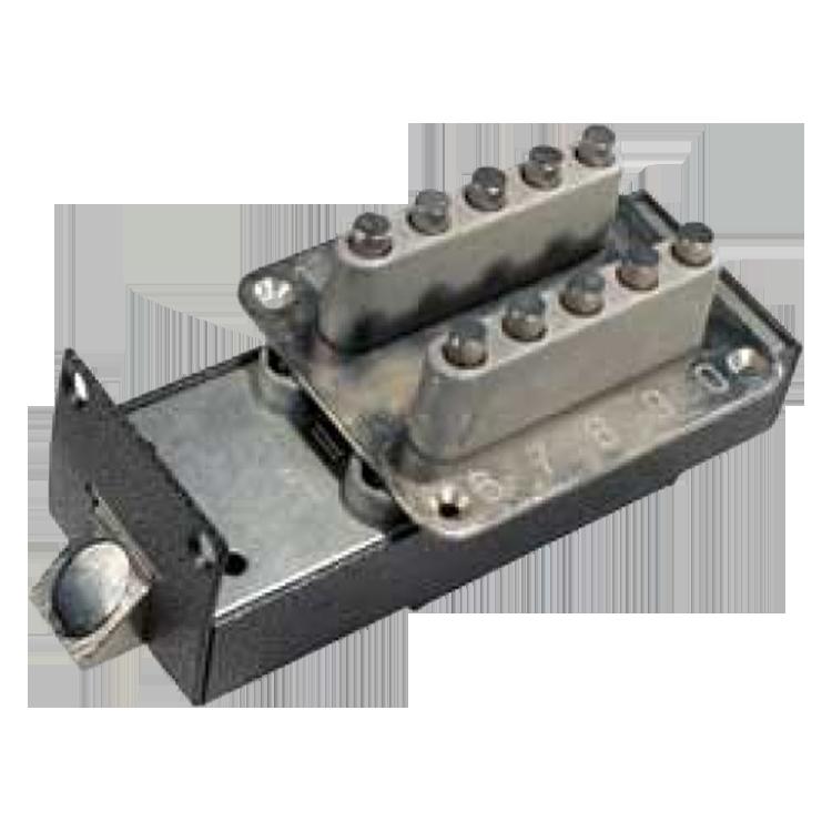 Механический кодовый замок с открывающими пластинами