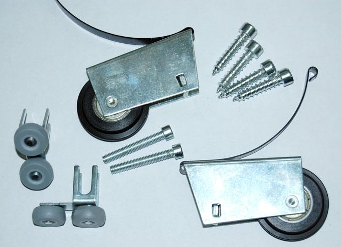 Набор роликов и крепежных элементов