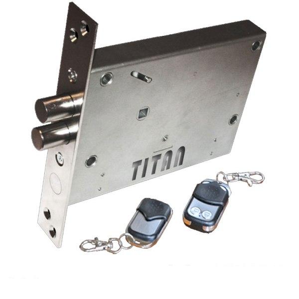 Запирающий механизм, устанавливаемый внутрь двери