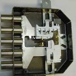Установка пластин секретной части устройства методом подбора