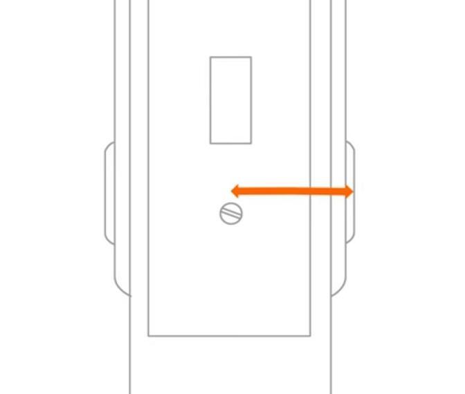 Расстояние до отверстия, в которое вставляется крепежный винт – важный параметр при выборе цилиндра замка