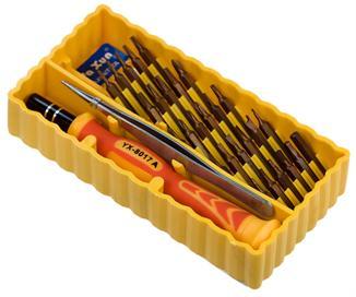 Инструменты, необходимые для разборки запорного механизма