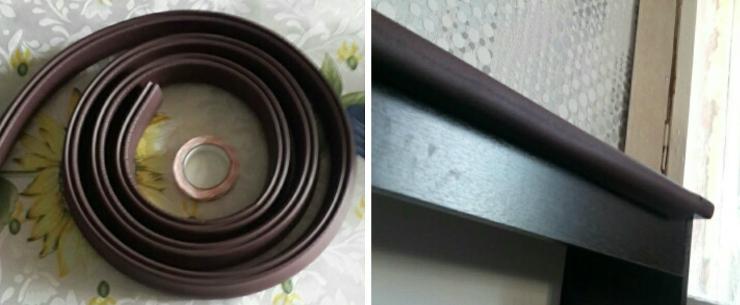 Края столов можно обезопасить специальными наклейками
