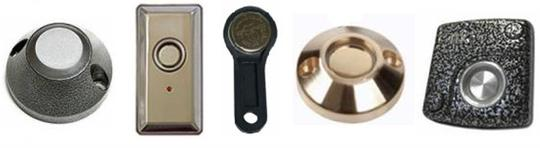 Варианты электромагнитных считывателей с программируемым ключом