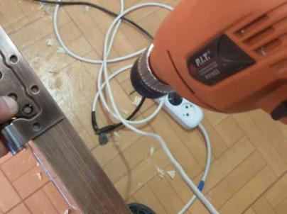 Сверление отверстий через петлю