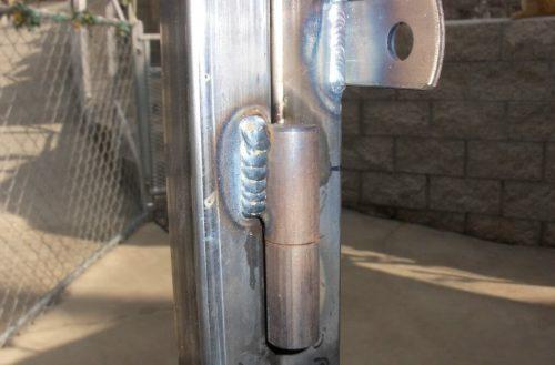 Опорный подшипник на петлю для металлических ворот