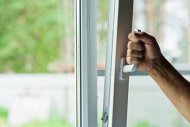 Правильное открывание окна на проветривание