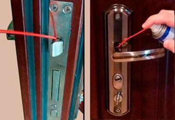 Своевременная смазка запорного механизма ручки убережет ее от преждевременного выхода из строя