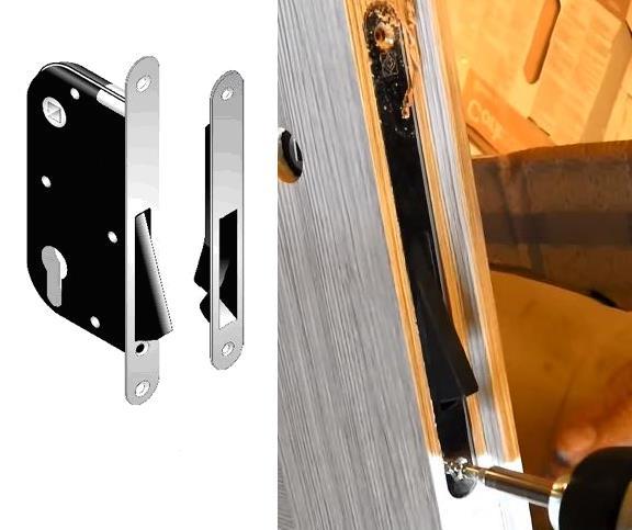 Конструкция и установка магнитного замка