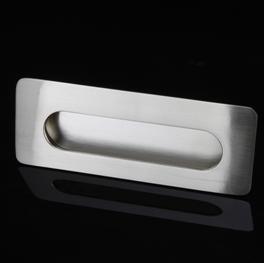Ручка для двери или мебели, устанавливаемая внутрь