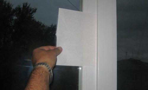Способ проверки прижима дверного полотна