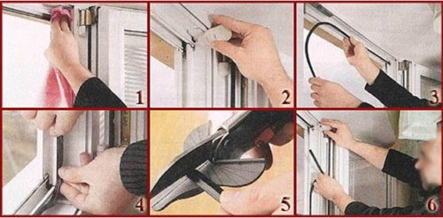 Процесс самостоятельной замены уплотнительного шнура