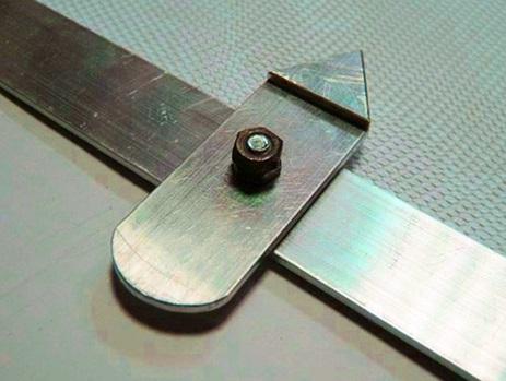 Засов-вертушка, изготовленный самостоятельно