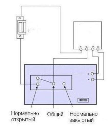 Как произвести подключение защелки